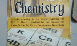 ISC CHEMISTRY BY KL CHUGH.good condition.2013 edition.