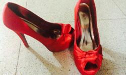 It a red hot ramp walk heel if anyone in need pls mgs