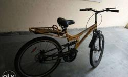 it is in good condition with disc brakes,double