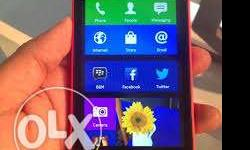 It is Nokia x red coloured phone with all original