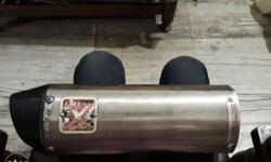 ixil original exhaust urgent sell new price 30,000 rs.