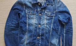 Jack & Jones Denim Jacket, (Condition - New) Pre-Stone