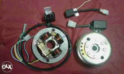 It includes Stator plate assly 1 No. Rotor 80Watts. 1