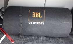 JBL Bass tube with JBL Amplifier
