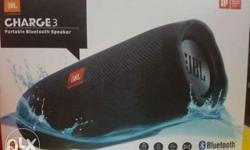 JBL charge 3 less than a month very rarely used.