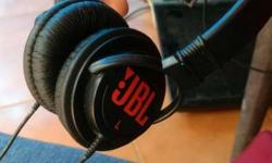 JBL headphones. only 1-2 hours use.