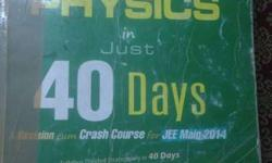 From the cover of the book jee main in 40 days u will