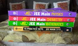 Jee Main in 40 days(2016 edition) complete set+ 15