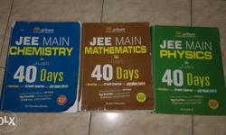 JEE Mains in 40 days - 3 volumes. Sold separately also.