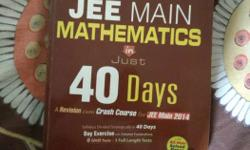new jee mains mathematics crash course book ( 40 days )