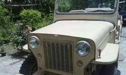 The iconic short wheelbase Jeep CJ3B, commonly known as