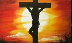 Jesus Christ Crucified On Cross Poster Ye student or