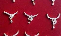 Best quality microsetting mangal sutra with earrings at
