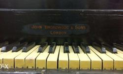 London-made John Broadwood & Sons Grand Piano, has a