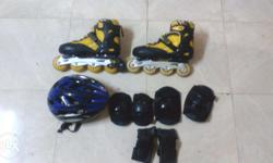 jonex rollerskates combo package contains:- 1) The