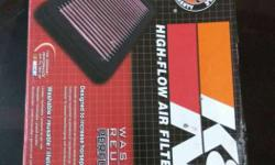 K free flow air filter for pulsar 220,180 ,150