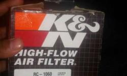 K&n original air filter not use brand new with box and