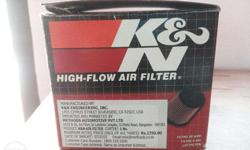 Less used k&n RC-1060 air filter for sale.. with full
