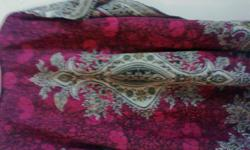 Want to sell used ladies kaftan top. Hot pink colour,