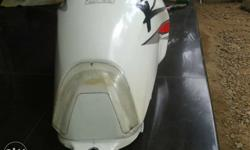 Karizma R 2013 model fuel tank white color.. No
