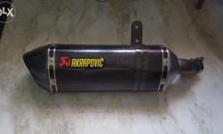 It's brand new akropovic exchaut for Ninja 250 and
