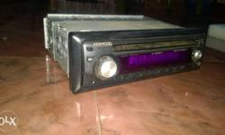 Kenwood car sterio without usb & aux
