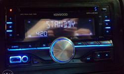 Kenwood orignal stereo with aux cd and pendrive nice