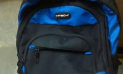 Gray And Blue Backpack 2month old Hitech company