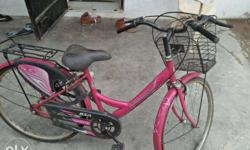 kids bicycle in good condition pink was sold only blue