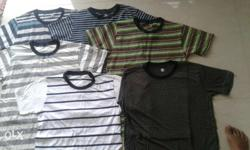 kids round neck t-shirts. 95 each. age between 7-10,
