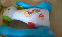 Kids walker 3 yrs old hardly used want to sell off