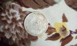 King George 1 rupee coin 1906