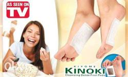 Kinoki Detox Foot Pads may help: � Absorb toxins