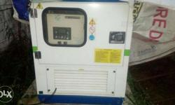 kirlosker D G set 20 kva 8 old only 134 hrs working