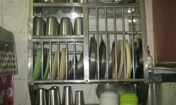 Kitchen rake in good condition available for sale.