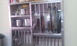 Kitchen Stainless steel rack 39 �30