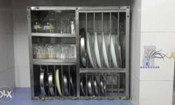 Kitchen Steel rack .