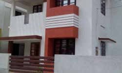 Kollam, 5cent, 1600sqft, 3bhk attached, new, sidewall