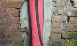 Red And Black Cuestick Bag