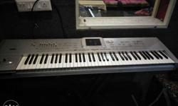 korg 1x pro with cards & hard disk