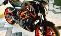 KTM duke 390 ABS Excellent condition Single user