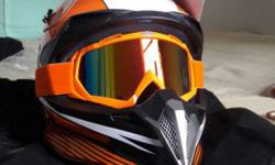 Ktm Supermoto helmet for sale The helmet is unused and