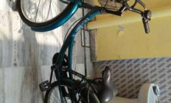 Ladybird bicycle, metallic green, good and in working