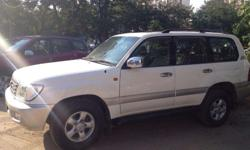 Land Cruiser 1998 Model Is In Beautiful White Colour