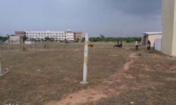 Empty land for sale backside to veltech college
