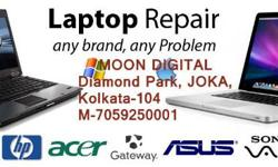 We repair all brands of Desktops, Laptops & printers,