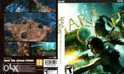 Lara Croft PC Game Cover