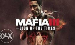 Latest PC games available like mafia 3
