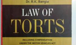 Law Of Torts By Dr. R.k Bangia