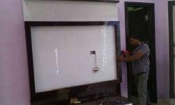 LCD unit for room or lobby new piece manufacturing